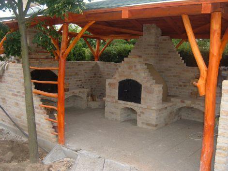 Kerti építmények - Kerti konyhák